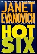 "Stephanie Plum Novels: ""Hot Six"" 6 by Janet Evanovich (2001, Paperback)"