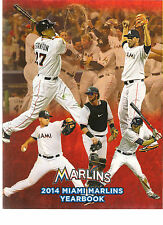MIAMI MARLINS 2014 YEARBOOK (ref 200121)