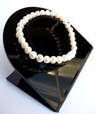Bracelet Lithothérapie Minéraux  Perle de Culture Bijoux en Pierre Naturelle