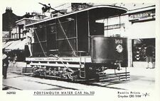 Hampshire Postcard - Portsmouth Corporation Tramways Water Car No.103 - EE74