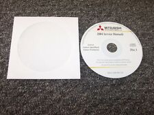 2004 Mitsubishi Lancer Sportback Evolution Evo Shop Service Repair Manual DVD