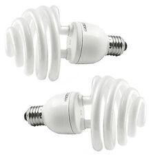 2x Daylight 35W (175W) 5500K E27 Umbrella Photo Photography Bulb Lamp B2O4