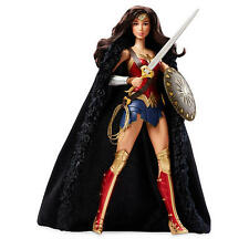 Barbie Wonder Woman Live-Action Doll DC Comics Super Hero Figurine Shield Sword