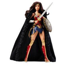 Barbie Wonder Woman Live-Action Doll DC Comics Super Hero Figurine Shield Sword