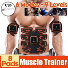 6 Modes LCD Digital Bauchmuskeltrainer Bauchmuskel Stimulator Fitness Exerciser