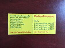 GERMANY BRD FRD BOOKLET MNH DEUTSCHE BUNDESPOST 3 DM YELLOW