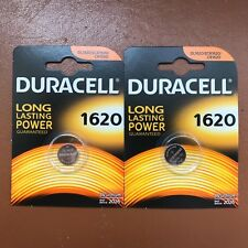 1 Duracell Cr1620 Coin Cell Battery 3v Lithium Dl1620 1620 Br1620 Long Expiry