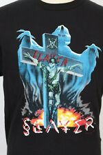 Vintage 2000s Slayer Metal Concert Rock T-Shirt Ds Mens Large