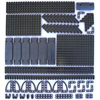 Lego 194x Genuine Technic Dark Stone Grey Studless Beams Liftarms Straight - NEW