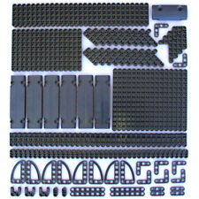 Lego Technic Dark Stone Grey Studless Beams Liftarms Panels - 194 Parts - NEW