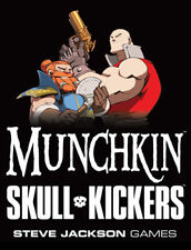 Munchkin SKULL KICKERS Booster Steve Jackson SEALED Mint Condition Adds 15 cards