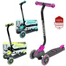 Scooters for Kids Boys Girls 3 Wheels Push Kick Ride Skate Wheel Skateboard