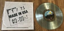 SONIC YOUTH - Made In The USA *LP* LIMITED CLEAR VINYL Thurston Moore Kim Gorden