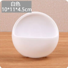 Suction Cup Bathroom Accessory Shower Soap Toothbrush Plastic Box DIsh Holder US