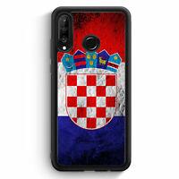 Kroatien Splash Flagge Hrvatska Croatia Huawei P30 Lite Silikon Hülle Motiv D...