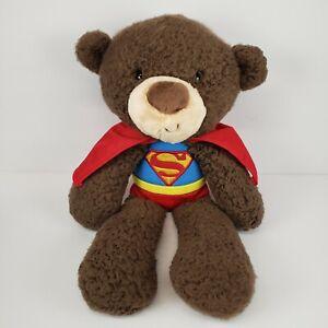 "Gund 14"" DC Comics Superman Teddy Bear Plush"