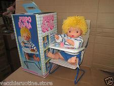 bambolotto PIPPO PAPPA GADEA SI MUOVE E MANGIA LA PAPPA!! parla vintage anni '80