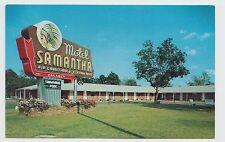 Vintage Postcard ~ Motel Samantha Aaa Oxford, Alabama ~ Used