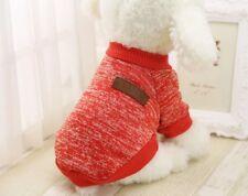 Hundebekleidung Hundepulli Pullover Hoodie Chihuahua Rot Yorky M Pulli T Shirt