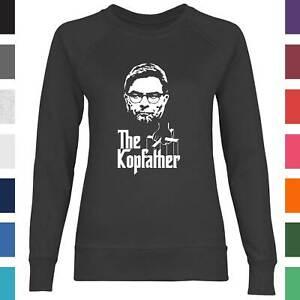 Damen Sweatshirt The Kopfather Jurgen Klopp