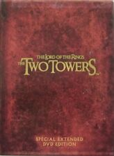 THE LORD OF THE RINGS - THE TWO TOWERS  -  4-DVD - SPECIAL EXTENDED EDITION