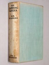 THE CROWNING MURDER - H. H. Stanners (1938 First Edition) Golden Age Detective