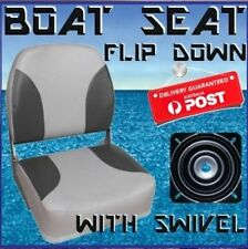 1 x Flip Up Padded Boat Seat with Swivel Quintrex Replacement Runabout Seats NEW