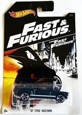 NEW 2017 FAST & FURIOUS HOT WHEELS '67 FORD MUSTANG FREE WORLDWIDE SHIPPING