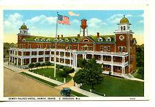 Aerial View-Dewey Palace Hotel Building-Nampa-Idaho-Vint age Postcard