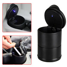 Universal Car Auto Ashtray Accessories illuminated Ash Bin Led Light Easy Clean