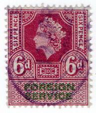 (I.B) Elizabeth II Revenue : Foreign Service 6d