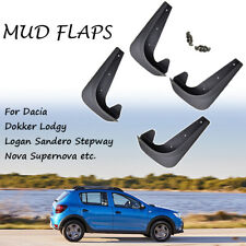 Front Rear Mud Flaps Mudflaps For For Dacia Lodgy Logan Mudguards Splash Guards