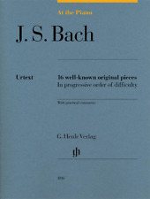 Henle Urtext J.S. Bach: At the Piano 16 Well-Known Original Pieces