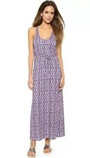 NWT Soft Joie $168 Emilia Multicolor Cotton Maxi Dress Small NO BELT