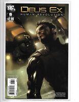 DEUS EX: HUMAN REVOLUTION #6 DC COMICS