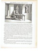 """1825 """"Saint Gregoire de Nazianze"""" San Gregorio Nazianzeno Gregorius Nazianzenus"""