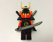LEGO Ninjago Minifigures SAMURAI X Nya 2015 Minifig Weapons New
