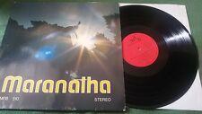 LP: Maranatha - MFB 510 - 1970 - FOC - Rare Krautrock Xian Psych Folk