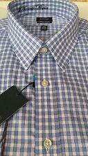 Arrow Classic Fit Non Iron Dress Shirt Sky Bluebird 141/2 32/33 NWT