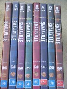 SMALLVILLE - SEASONS 1 to 8 - 8 x DVD SETS