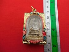 Gold Color Case Phra Somdej LP Toh Wat Rakang Pim Yai Buddha Pendant Thai Amulet