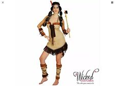 Wicked Costumes Adult Indian Princess Fancy Dress S Themed party cowboys
