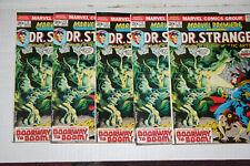 Marvel Premiere lot #12! (5 Copies) Warehouse Find! VG/F! Dr. Strange!