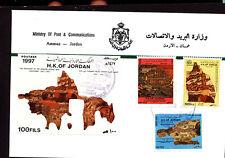 ARCHAEOLOGY DISCOVERY OF THE MADEBA MOSAIC SET & S/S 1997 JORDAN FDC