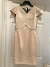 Roland Mouret Robe Blanche Taille UK 8