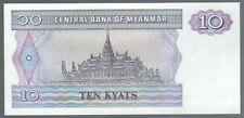 Banknote Myanmar - 10 Kyat - 1996 - unc