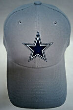 Dallas Cowboys Applique logo,Heat Applied on a Silver cap hat. Adjustable!