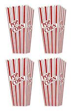 Set of 4 Popcorn Plastic Container Box Tub Bowl - Presentation is Everything