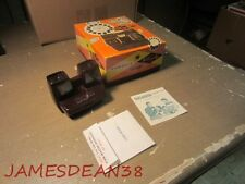 VINTAGE VIEW MASTER GIFT PAK BOX VIEWER PAPERS BROWN MODEL E