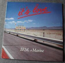 Jean François Maurice & Marine, it's love, Maxi Vinyl